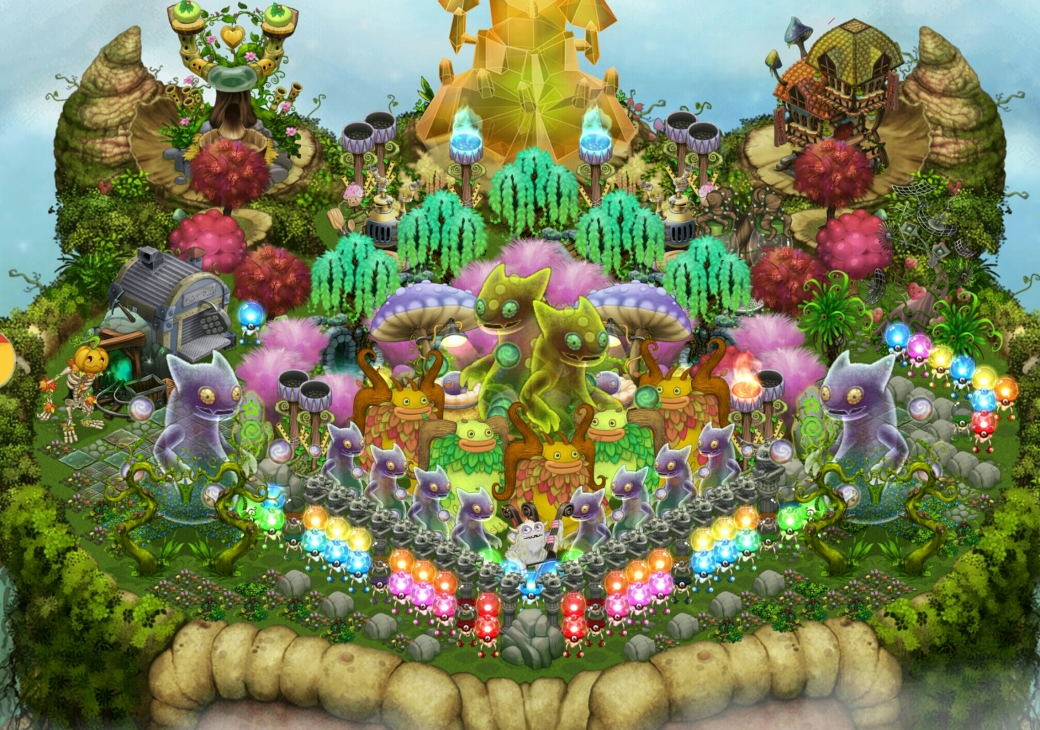 francine-pruitt-king-and-queen-ghazt-in-their-royal-garden