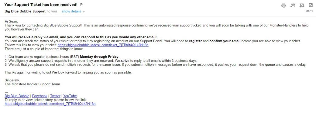 BBB email